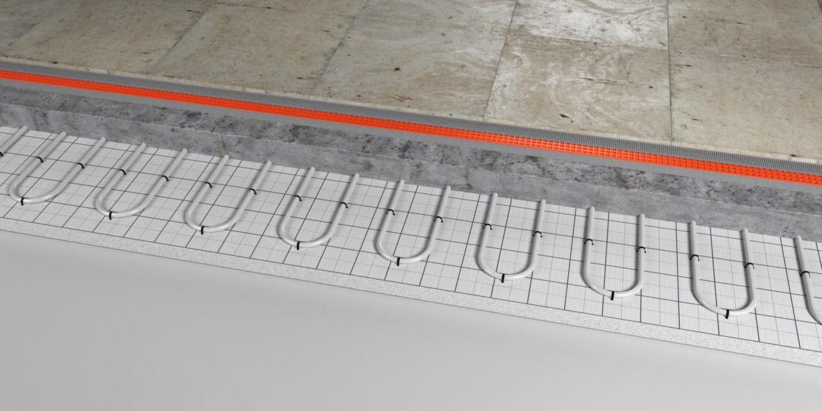 underfloor heating system Llanidloes