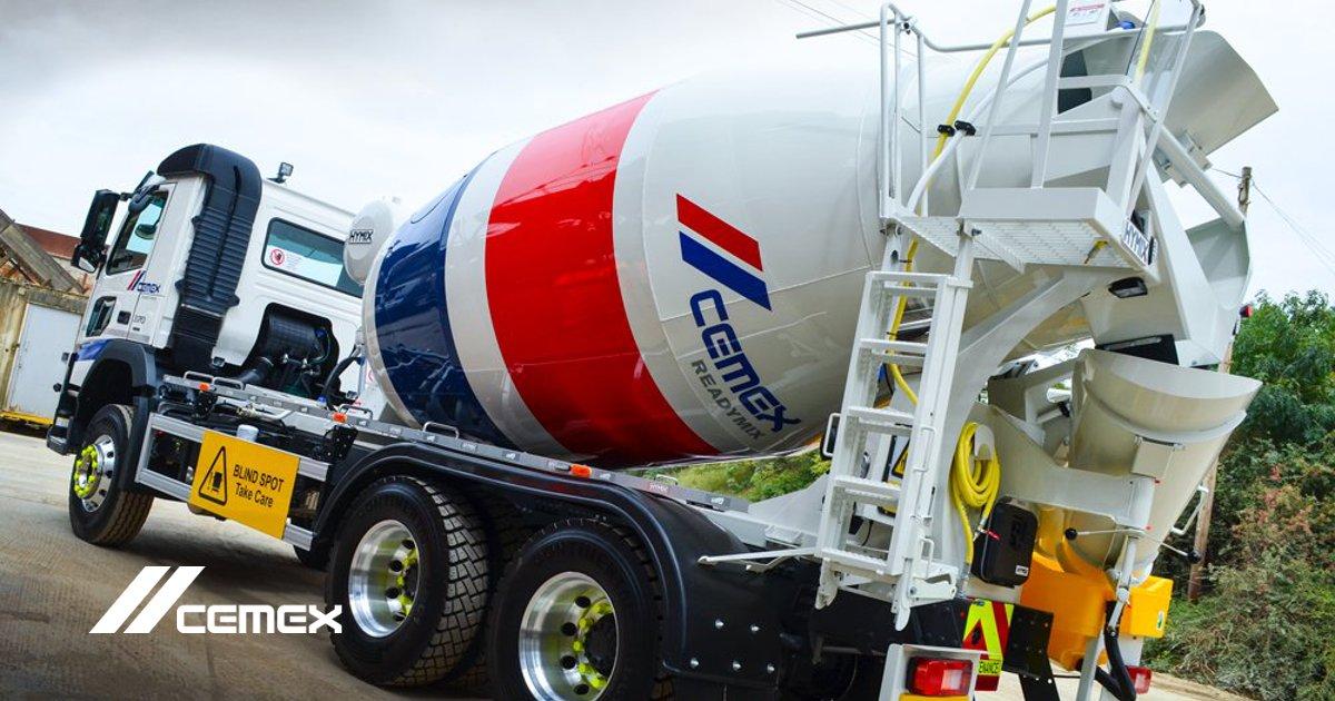 cemex mixer truck